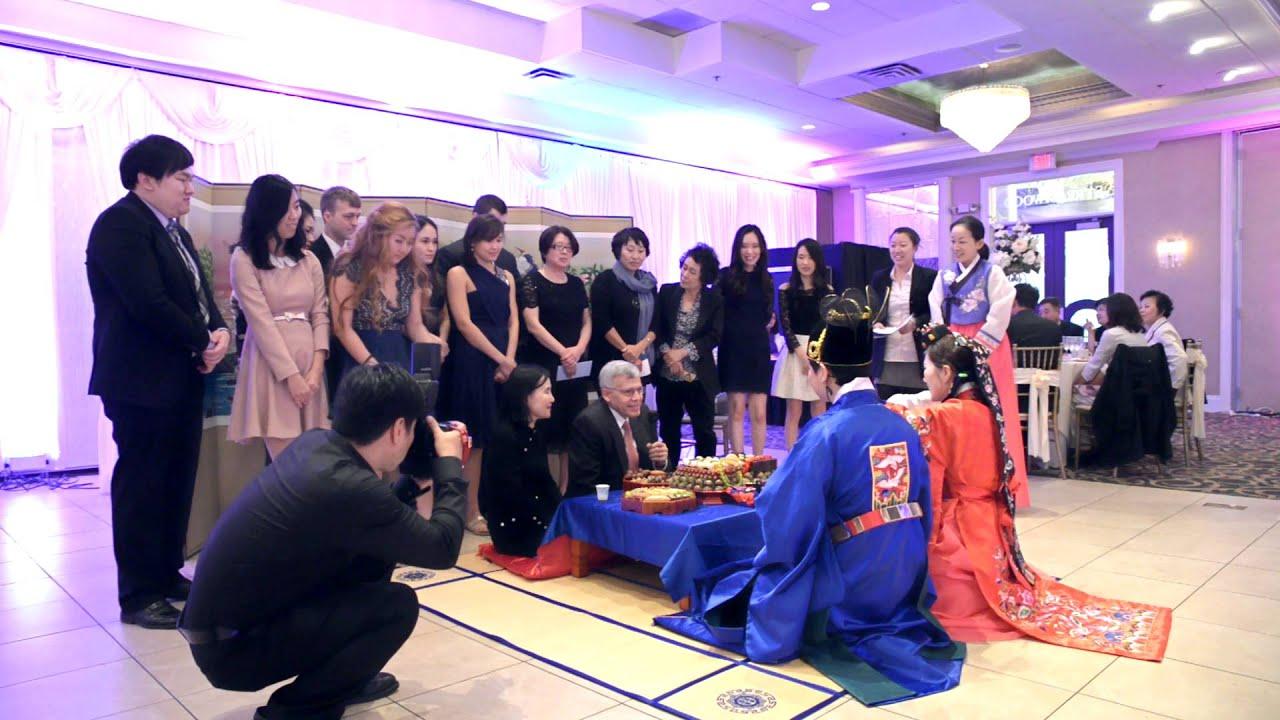 Korean Traditional Wedding Ceremony (패백) - YouTube
