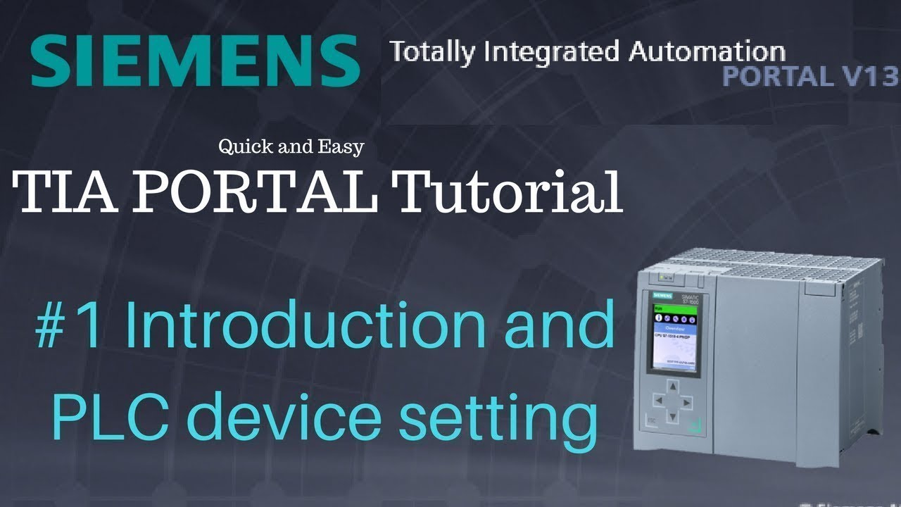 Siemens TIA Portal tutorials – SURTR TECHNOLOGY