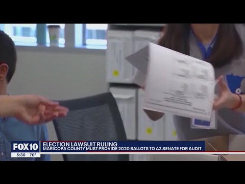 Judge rules Maricopa County must provide 2020 election ballots to State Senate | FOX 10 News