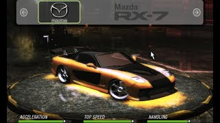 HOW TO MAKE Han's RX-7 | COMO FAZER o RX-7 do Han | Need for Speed: Underground 2