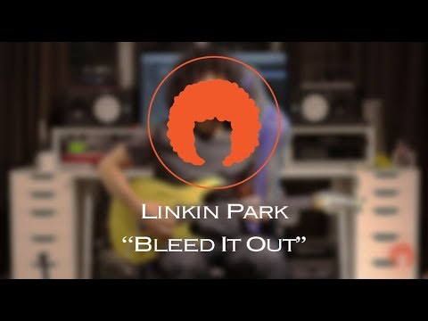 Linkin Park - Bleed It Out (Guitar Cover + Tab) - YouTube
