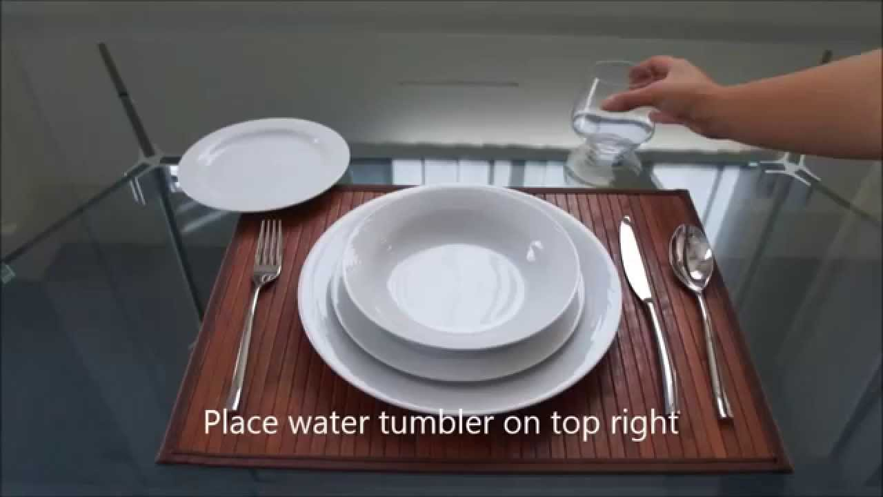 Charmant How To Set A Casual Dinner Table By Noritake Australia