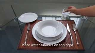 How To Set A Casual Dinner Table By Noritake Australia