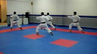 Kihon Kata Basica. Taikyoku Shodan Shotokan