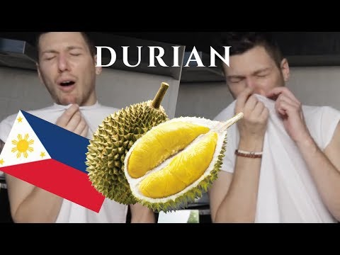 DURIAN - THE SMELLIEST FRUIT IN THE WORLD