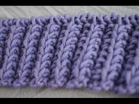Heather S Cozy Throw Knit Along Series Mock Rib Stitch