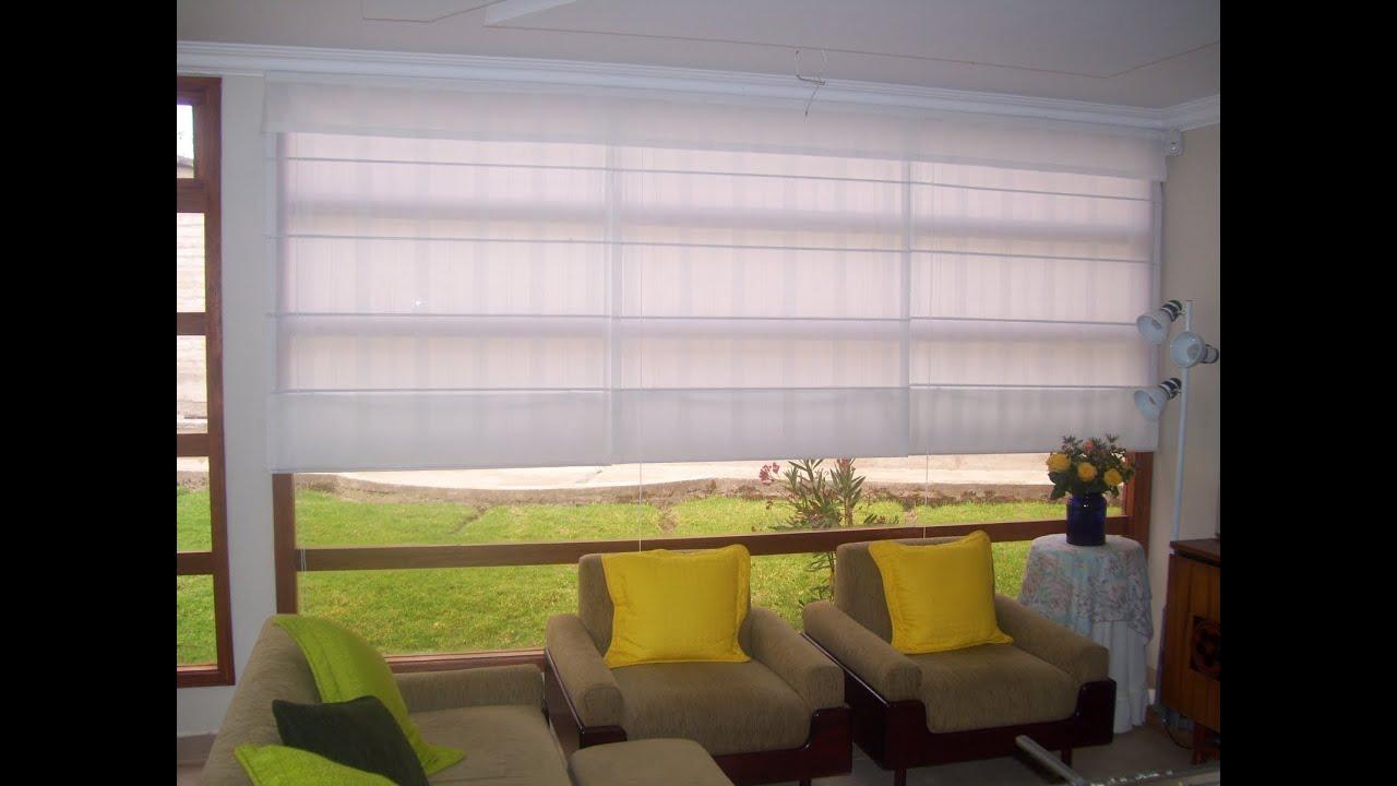 Como hacer cortinas romanas sencillo y como hacer cortinas - Cortinas de cocinas ...