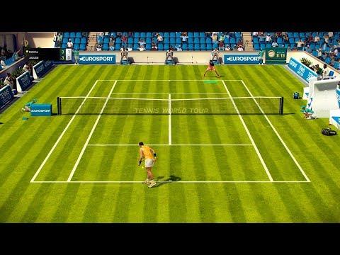 Tennis World Tour - Rafael Nadal vs Andre Agassi - Roland Garros Edition