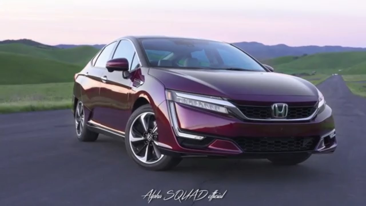 Honda Clarity 2017 Fuel Cell Hydrogen Car And Plug In Hybrid