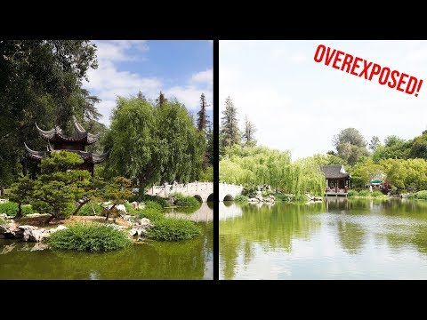 How to EASILY Avoid OVEREXPOSURE InCamera  Sony a7III a7RIII a6500 a6300 a6000 RX100