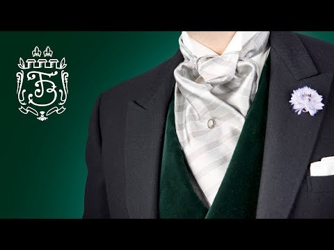 How To Tie A Formal Ascot - Fort Belvedere