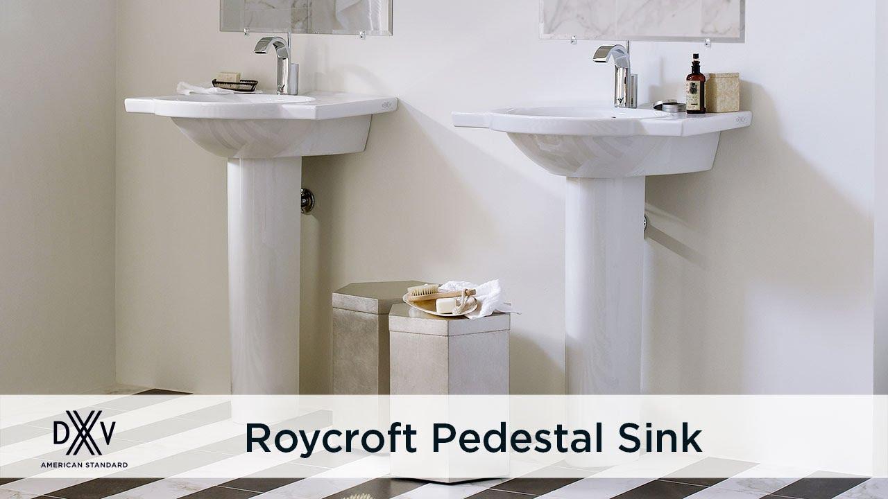 Roycroft Pedestal Bathroom Sink By Dxv