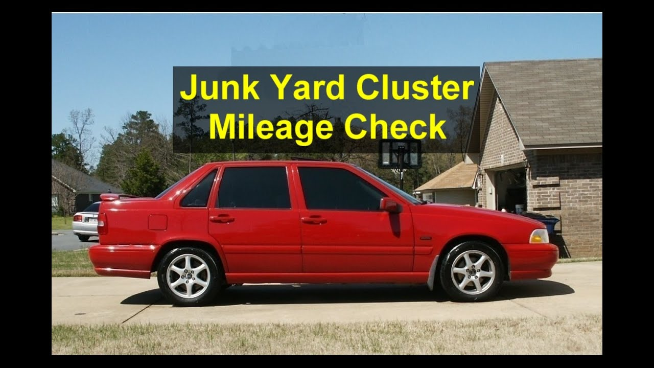 How To Check The Mileage In A Volvo With A Digital Cluster Volvo