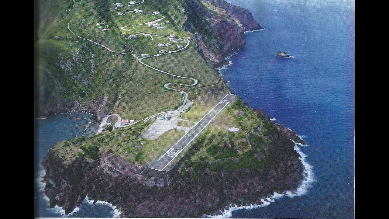 Image result for Juancho E. Yrausquin Airport, Saba Island