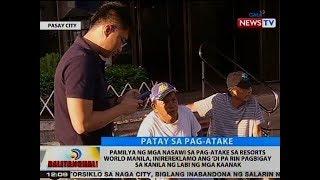 Pamilya ng mga nasawi sa RWM, inirereklamo ang 'di pa rin pagbigay sa kanila ng labi ng mga kaanak