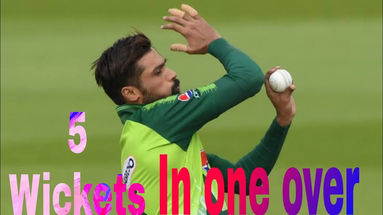 Download Muhammad Amir take 5 wicket in one over world record...love you M Amir ❤️||#Numikhantypist