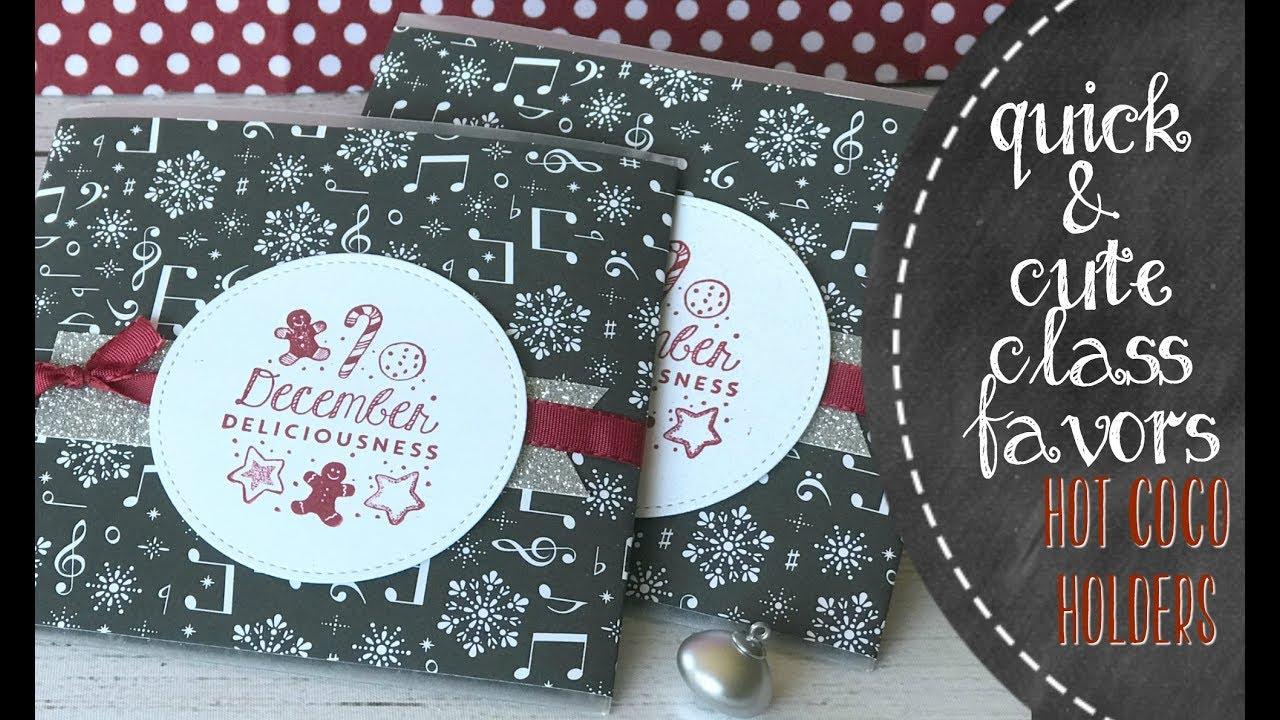 Reindeer Hot Chocolate Gift Bags |Hot Chocolate Treat Bags