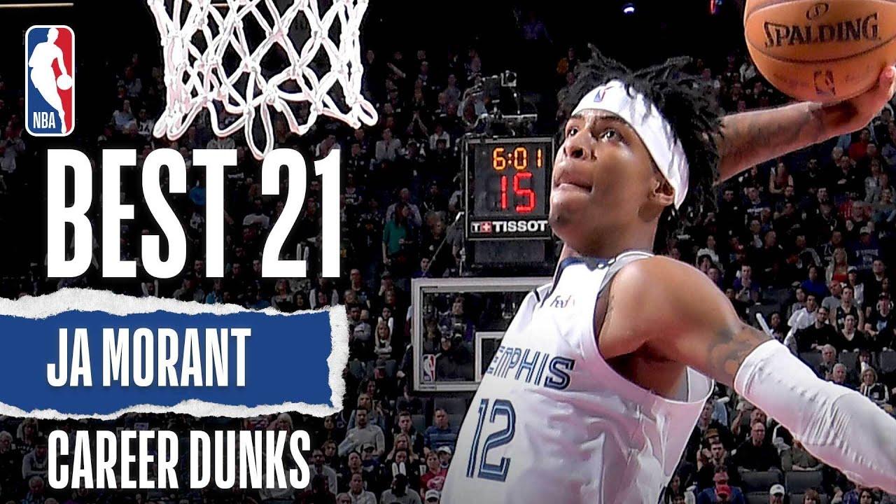 Ja Morant's 21 BEST Dunks | Career Highlights