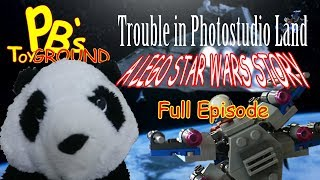 PB's Toyground: A Lego Star Wars Story:  play Full Episode, with kid's favorite Panda Bear