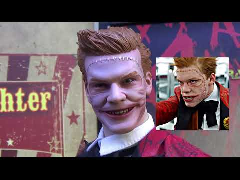 TOYS ERA THE LAUGHTER (JEROME FROM GOTHAM) FIGURE UNBOXING REVIEW