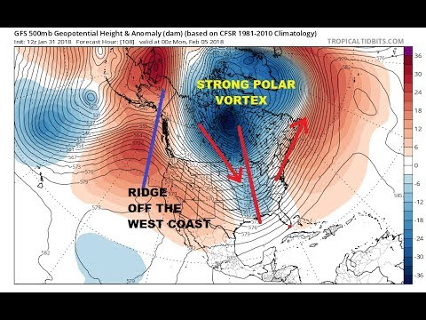 Super Bowl Sunday Winter Storm Possible for the Northeast Active Pattern Long Range