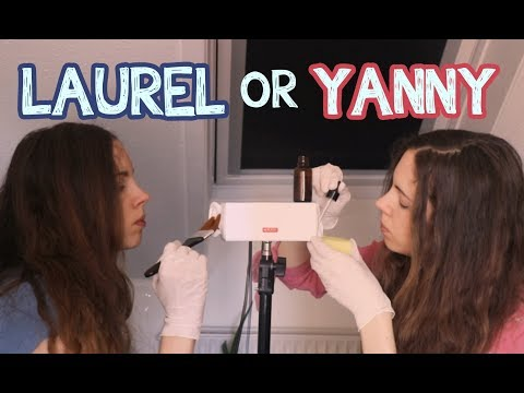 Twin Ear Cleaning ASMR Video For People Who Hear Yanny