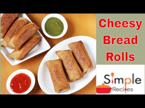 Cheesy Bread Rolls || How To Make Bread Rolls || Cheesy Bread Roll Simple