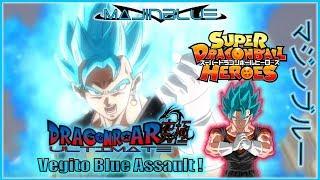 SDBH: Vegito Blue Assault ! - MajinBlue