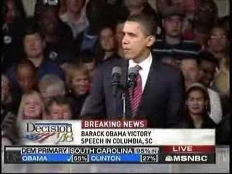 Barack Obama South Carolina Victory Speech (17 min)