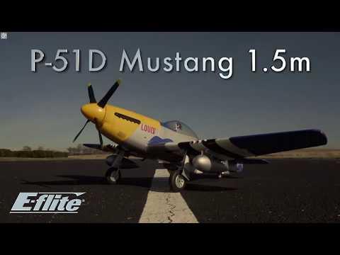 P 51D Mustang 1 5m PNP With Smart HorizonHobby Weymuller