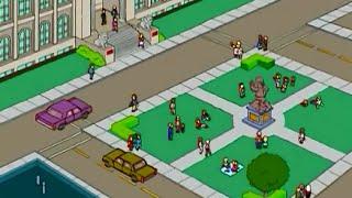 Les simpsons : Springfield Astuce : Comment faire la place de springfield
