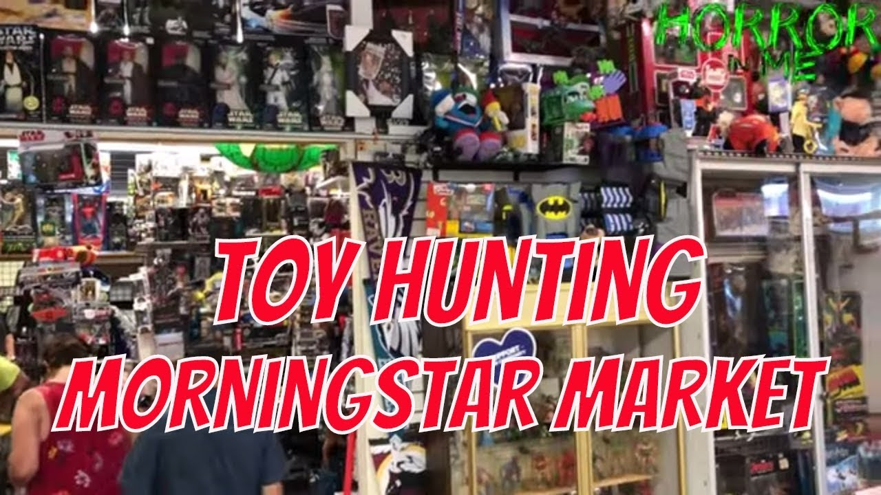 Toy Hunting MORNINGSTAR MARKET w/ Horror in Me
