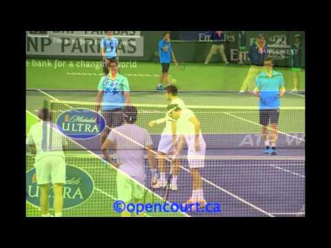 Federer-Wawrinka vs. Raonic-Gulbis