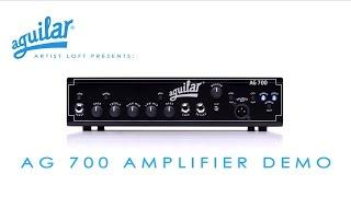 """L'ampli pour basse AGUILAR """"AG 700"""" : clarté, dynamique et fluidité (vidéo de la boite noire)"""