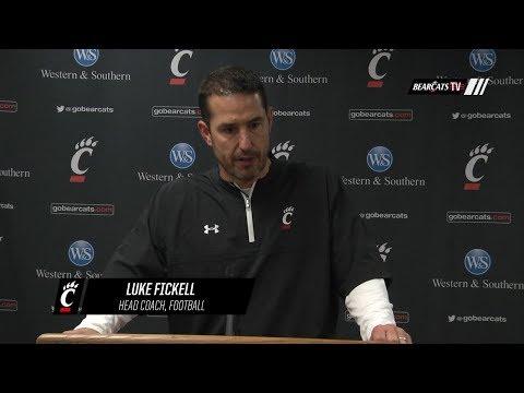 Head Coach Luke Fickell Recaps Cincinnati's loss to Temple
