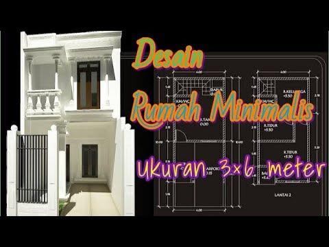 rumah minimalis 3×6 meter 2 lantai menggunakan dak kraton