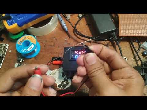 Alat pendeteksi konslet/short MBR dragon 12 ampere  dilengkapi mini chip short protector