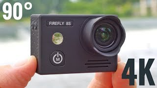 hawkeye Firefly 8S 4K Action Camera REVIEW & Sample Videos