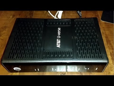 Setup AT&T U-verse Wireless Router Model# 5268AC FXN