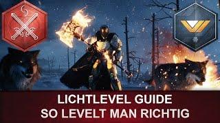 Destiny Rise of Iron: Lichtlevel richtig leveln / Licht Level Guide 335 - 385