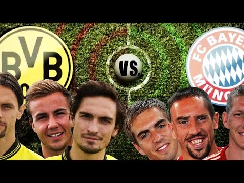 DORTMUND vs. BAYERN - Champions League RAP BATTLE