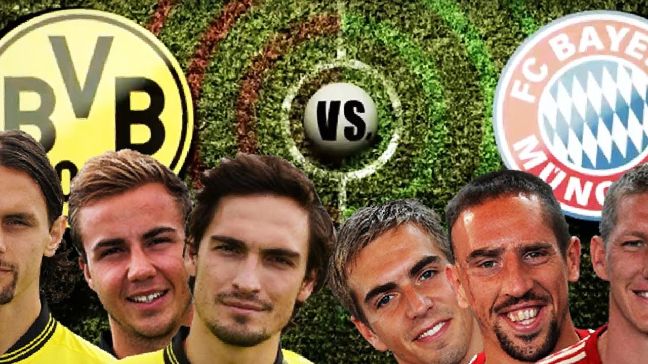 Dortmund Vs Bayern Champions League Rap Battle
