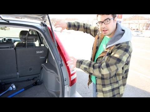 honda cr  tail light bulb replacement   youtube