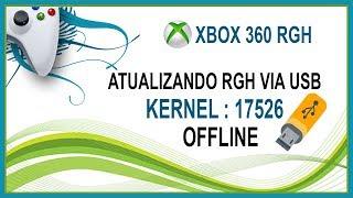 Atualizando XBOX RGH Para o Kernel:17526 | OFFLINE | Via USB • (nº1154)