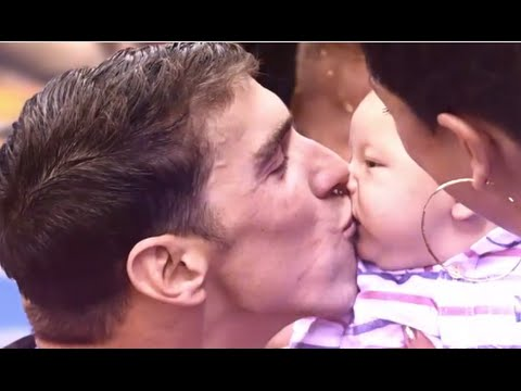 Michael Phelps Interview on Being a Dad