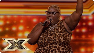 Burgandy Williams wants Respect with Aretha Franklin hit | Auditions Week 2 | The X Factor UK 2018