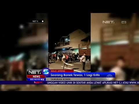 Seorang Bonek Tewas, 1 lagi Kritis Akibat Bentrok Dengan Warga Di Solo NET5