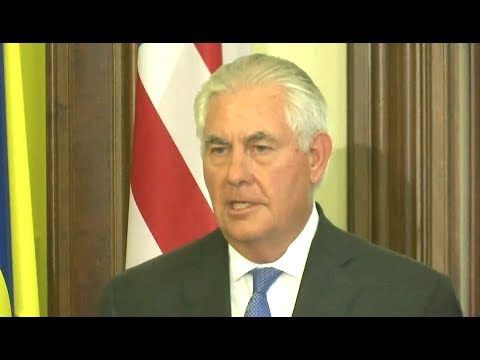 Tillerson Frustrated With Russia Over Ukraine