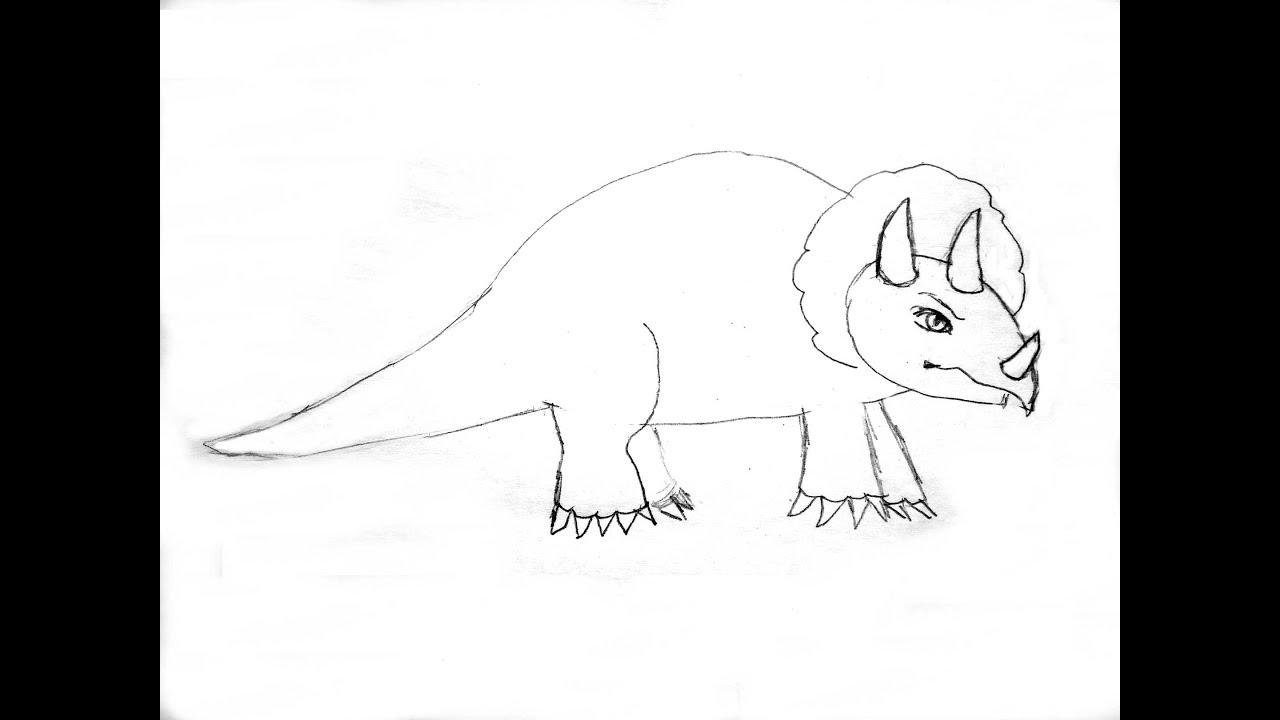 Рисовать рисунки динозавры легкие пасхи легкой младенцы