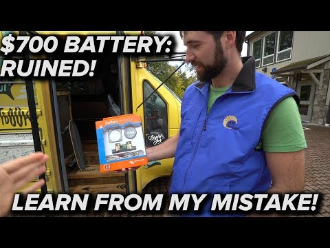 DON'T RUIN YOUR SOLAR BATTERY! VICTRON ENERGY SMART BATTERY MONITOR + NEW LIFELINE 300ah AGM !!